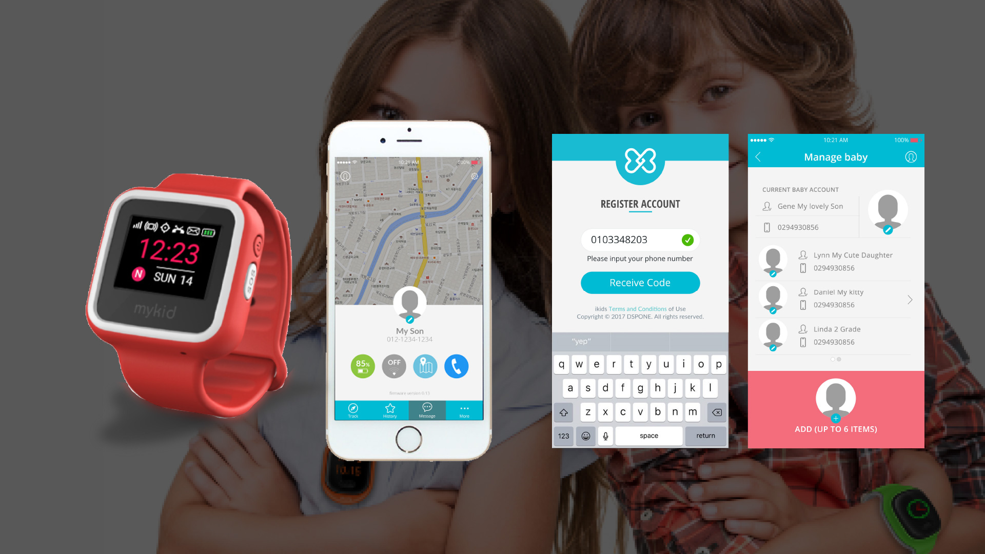 Mykids allows the optimized consumption of Data and the minimized Data Overload